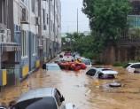 30 قتيلاً و6,000 نازح بسبب هطول أمطار غزيرة في كوريا الجنوبية