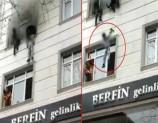 ألقت أطفالها من النافذة لتنقذهم... فيديو مؤثر