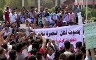 عشائر جنوب العراق تقدم مطالبعا للحكومة وتهدد بحمل السلاح  ضد اي قوة ترفع سلاحها بوجه المتظاهرين
