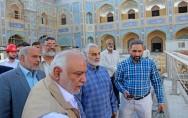بالصور : قائد فيلق القدس الايراني يتفقد مشروع توسعة العتبة العلوية