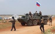 قوات روسية قرب الحدود العراقية