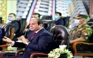 السيسي  يجدد تحذيره من انتشار الفوضى في مصر