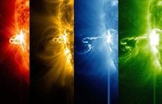 عواصف شمسية كارثية