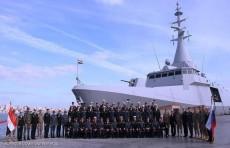 اختتام التدريب البحري المصري الروسي