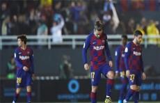 ثنائية جريزمان تُنقذ برشلونة من مفاجأة إيبيزا بكأس ملك اسبانيا