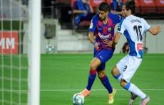 برشلونة يُسقط اسبانيول ويرسله الى الدرجة الثانية