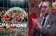 ملك المغرب يهنئ نهضة بركان بعد تتويجه بكأس الكونفدرالية