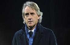 الاتحاد الإيطالي لكرة القدميُعيين روبرتو مانشيني مدربا جديدا للمنتخب الوطني