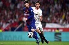 """مدافع إشبيلية"""" كليمان لانغليه"""" يقترب من الانضمام إلى برشلونة"""