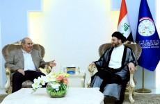 الحكيم وعلاوي يبحثان شكل وآلـية تشكل الحكومة العراقية الجديدة