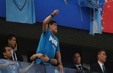 مارادونا ييؤيد قرار ميسي بالاتعاد عن المنتخب الارجنتيني في الوقت الحالي