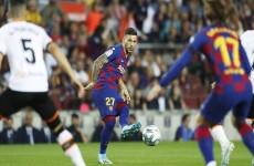 رسميا.. برشلونة يحصن نجمه الواعد