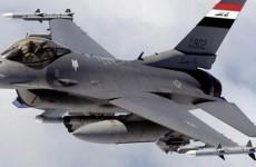 """""""اف 16″ العراقية تدمر ثلاثة مواقع لـ""""داعش"""" في ديالى"""
