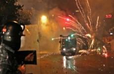 إصابة 220 شخصاً بالمواجهات بين المحتجين والأمن في بيروت
