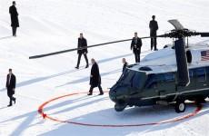 ترامب يصل إلى دافوس قبل ساعات على بدء محاكمته