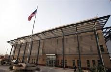 اصابات في هجوم صاروخي استهدف السفارة الامريكية ببغداد
