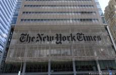 """مقال رأي يدعو إلى قمع المظاهرات يحدث أزمة داخل """"نيويورك تايمز"""""""
