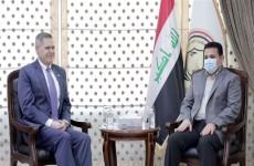 مستشار الامن القومي يلتقي السفير الاميركي في بغداد