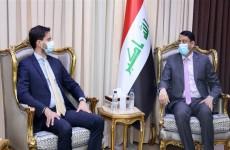 العراق وفرنسا يبحثان نتائج زيارة ماكرون إلى بغداد