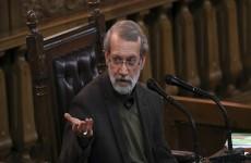لاريجاني: رفع جزء من العقوبات الأمريكية عن إيران عمل استعراضي غير مقبول