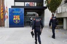 الشرطة الاسبانية تداهم مكاتب نادي برشلونة