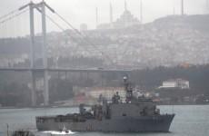 تركيا تؤكد وصول سفينتين حربيتين أمريكيتين إلى البحر الأسود الأسبوع القادم