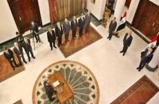 رئيس وأعضاء المحكمة الاتحادية يؤدون اليمين الدستوري أمام رئيس الجمهورية