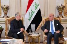 وزير الخارجية يدعو إلى إنشاء مركز لحوار الأديان في العراق