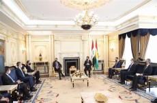 حكومة كردستان تبحث مع وفد أمريكي الانتخابات العراقية المقبلة واتفاقية سنجار
