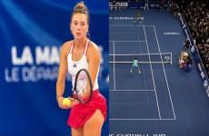 لاعبة تنس تحصل على 2 يورو فقط مقابل مشاركتها ببطولة للاتحاد الدولي