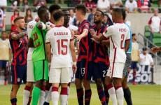 """شاهد.. قطر تخفق ببلوغ نهائي """"الكأس الذهبية"""" بالخسارة امام أمريكا"""