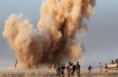 انفجار عبوة ناسفة على عجلة للحشد الشعبي في صلاح الدين