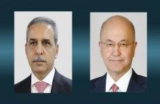 بيان مشترك عن صالح وزيدان: ندعو جميع الأطراف إلى موقف وطني والالتزام بالتهدئة