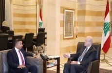 العراق ولبنان يبحثان ملف المساعدات النفطية والتنسيق في مختلف الأصعدة