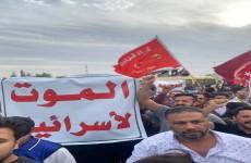 متظاهرون يغلقون طريقاً حيوياً شمال شرق بغداد