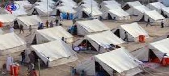 وزارة الهجرة تعيد 444 نازحا عراقيا من مخيم الهول السوري الى مخيم حمام العليل في الموصل .