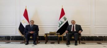 الكاظمي ومدبولي يترأسان مباحثات وفدي الحكومتين العراقية والمصرية