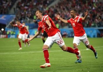 مصر تودع كأس العالم بخسارتها أمام روسيا 3-1