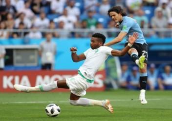 السعودية تودع مونديال روسيا بخسارة امام الارغواي بهدف لللاشيء