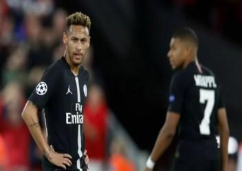 الصحافة الفرنسية تهاجم نيمار بسبب ادائه ضد ليفربول