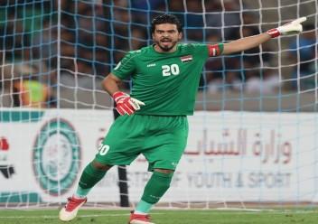 مدرب المدرب  الوطني العراقي  يدرس استدعاء حارس نادي هجر السعودي نور صبري لحماية عرين اسود الرافدين خلال الفترة المقبلة