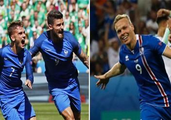 فرنسا تستضيف ايسلندا بمواجهة ودية