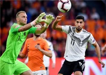 هولندا تهز شباك المانيا بثلاثة اهداف في دوري الأمم الأوروبية
