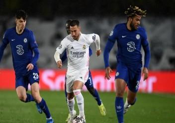 """هازارد يعتذر من جماهير ريال مدريد بسبب تصرفه """"غير اللائق"""" بعد مباراة تشيلسي (فيديو)"""