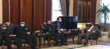 وفد عسكري إيراني يزور بغداد ويجتمع مع وزير الدفاع العراقي