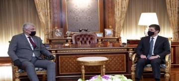 البارزاني والسفير الروسي يناقشان تطوير العلاقات بين أربيل وموسكو