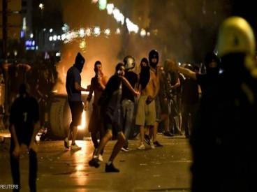 السفارة الايرانية في اثينا تتعرض لاعمال تخريبية