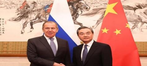 لافروف من بكين: التعاون الاستراتيجي مع الصين  من أهم أولويات السياسة الخارجية لروسيا