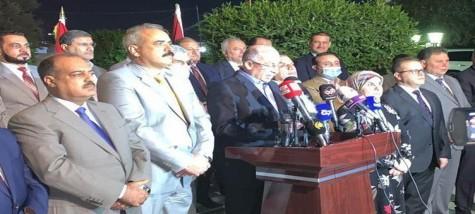 الجبهة العراقية :سنعلن قريبا نتائج مهمة لتصويب العمل التشريعي ولاجود لانشاقات