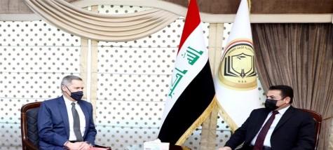 بغداد وواشنطن تبحثان تفعيل اتفاقية الشراكة الإستراتيجية